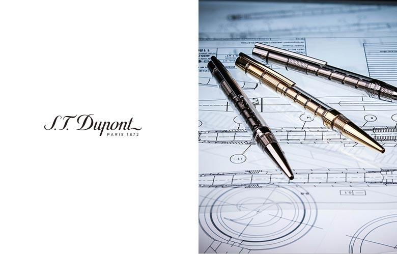 에스.티.듀퐁(S.T.DUPONT) [Limited Edition]롤링스톤즈 만년필 블랙